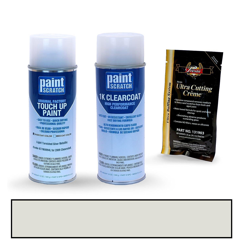 Amazon.com: PAINTSCRATCH Pewter 14B for 2009 Chevrolet Cobalt - Touch Up Paint Spray Can Kit - Original Factory OEM Automotive Paint - Color Match ...