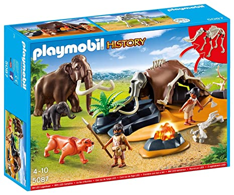 release info on new concept first rate Playmobil 5087 - Stone Age Camp