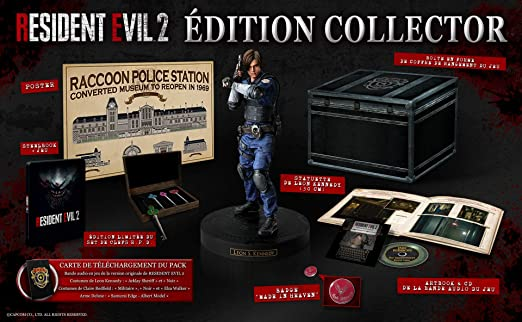 Amazon Com Resident Evil 2 Collector S Edition Ps4 Usa Physical Video Games