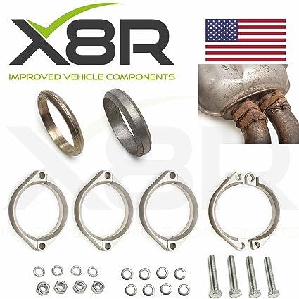 Amazon.com: BMW E46 M3 Rusted Exhaust Flange Flanges Brackets Repair Replacements Fix Kit X8R0092: Automotive