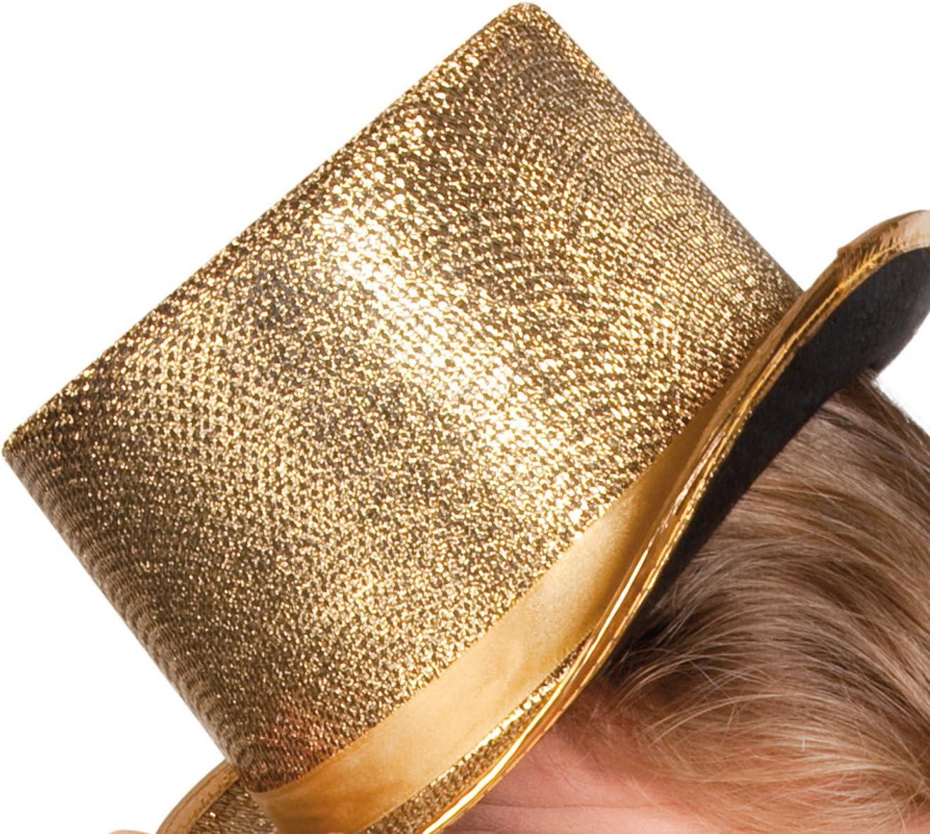 Erwachsenenhut Glitz Gold Boland 04176 Einheitsgr/ö/ße