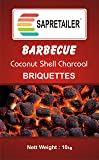 SapRetailer® Coconut Shell Charcoal Briquettes (10 KG)