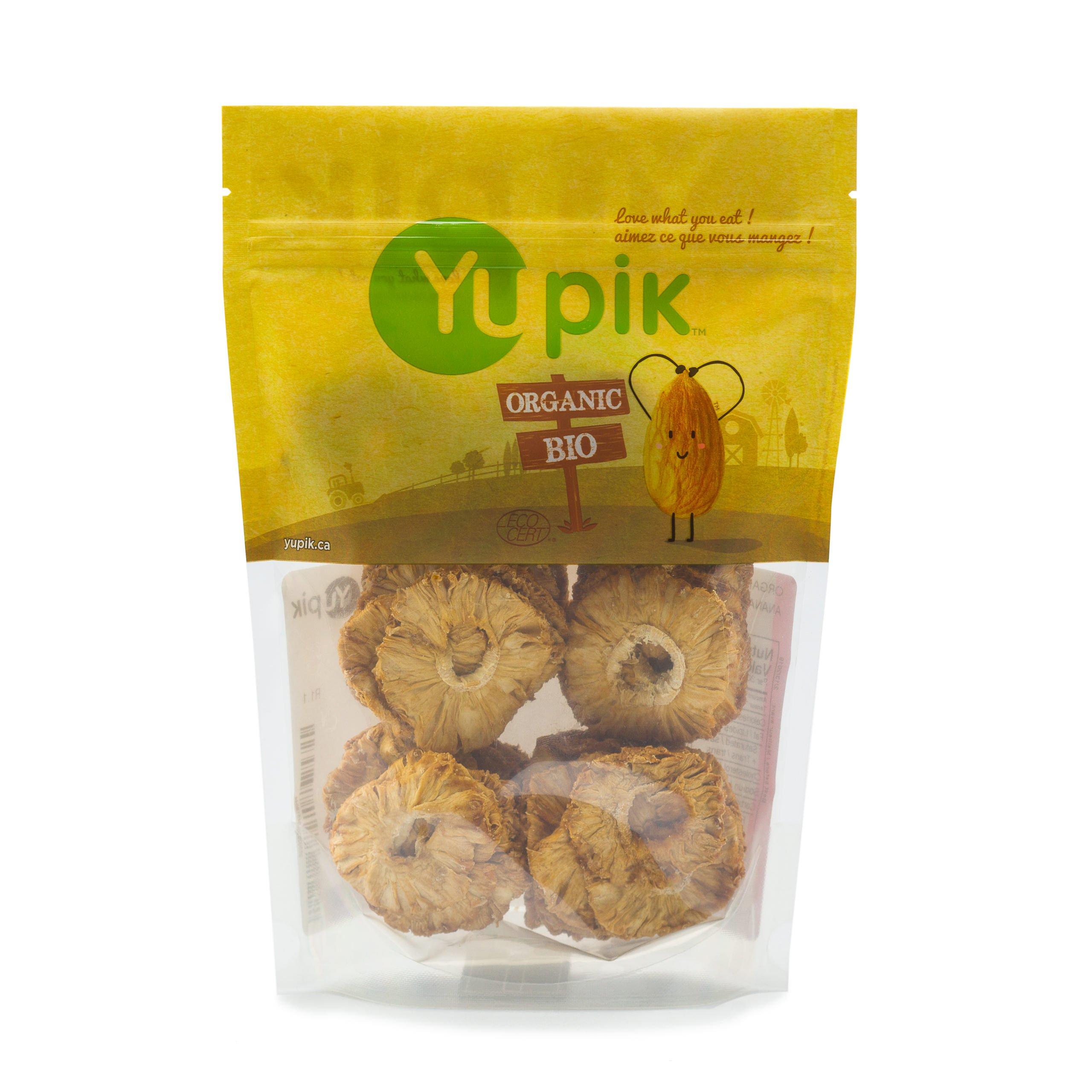 Yupik Organic Dried Pineapple Rings, 1 Lb by Yupik