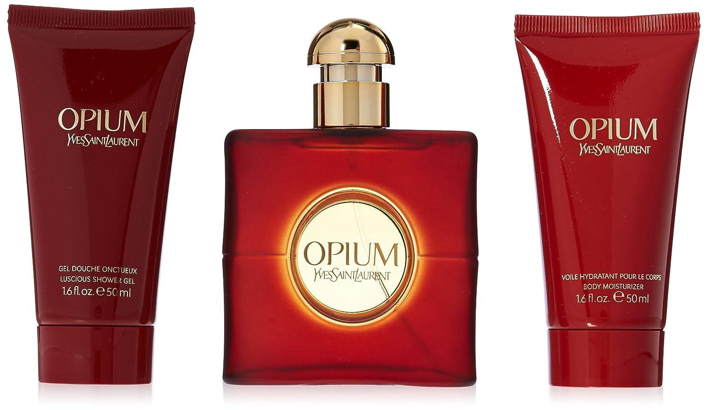 966170e6c29 Amazon.com : Yves Saint Laurent Opium Women 3 Piece Set : Beauty