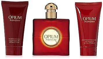 72015fe23d2 Image Unavailable. Image not available for. Color: Yves Saint Laurent Opium  Women 3 Piece Set