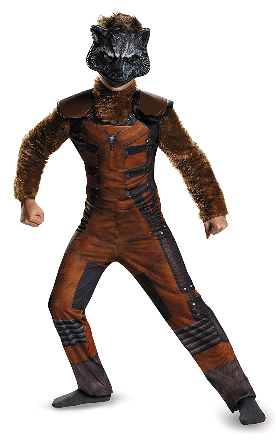 Guardians Of The Galaxy Marvel Deluxe Rocket Raccoon Child ...