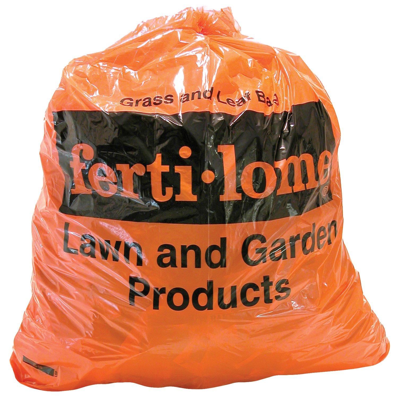 Fertilome 11021 Heavy Duty Plastic Lawn & Leaf Bags - 100 Count