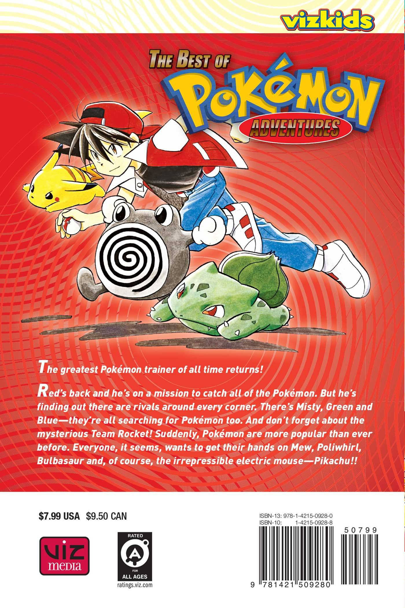 POKÉMON: Best of Pokemon Adventures: Red