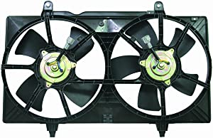 DEPO 315-55006-000 Replacement Engine Cooling Fan Assembly (This product is an aftermarket product. It is not created or sold by the OE car company)