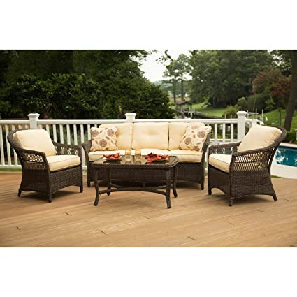 Agio Charlotte Woven Lounge Chair - Amazon.com : Agio Charlotte Woven Lounge Chair : Garden & Outdoor