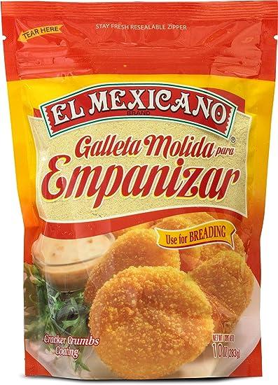 El Mexicano Bread Crumbs 10oz (Ground Cracker): Amazon.com: Grocery ...