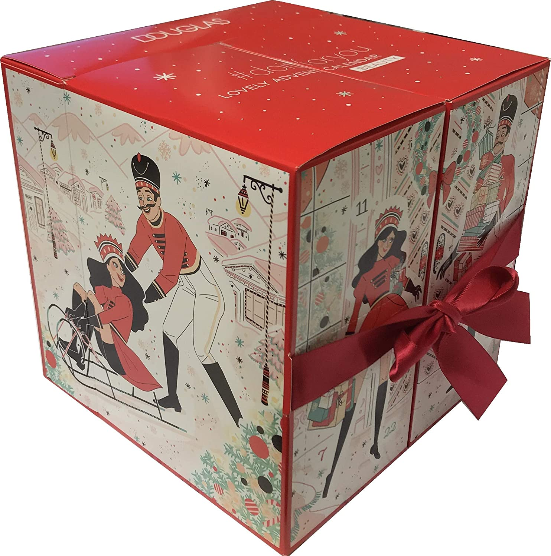 Douglas - Adventskalender 2018 - Advent Calendar - Würfel - Rot - Beauty - Kosmetik - MakeUp - Limitiert