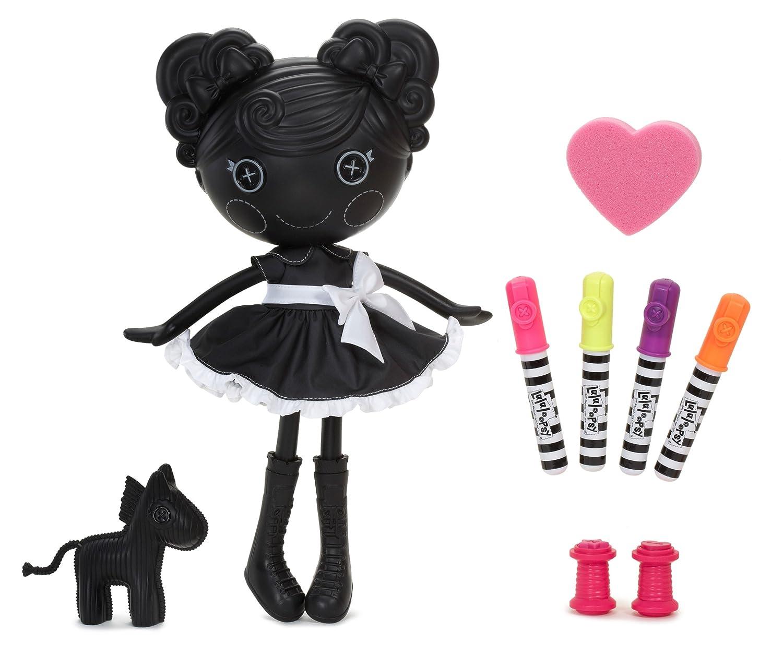 amazon com lalaloopsy color me trace e doodles doll creative