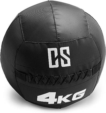 Capital Sports Bravor Balón Medicinal PVC 4 Kg (Entrenamiento del ...