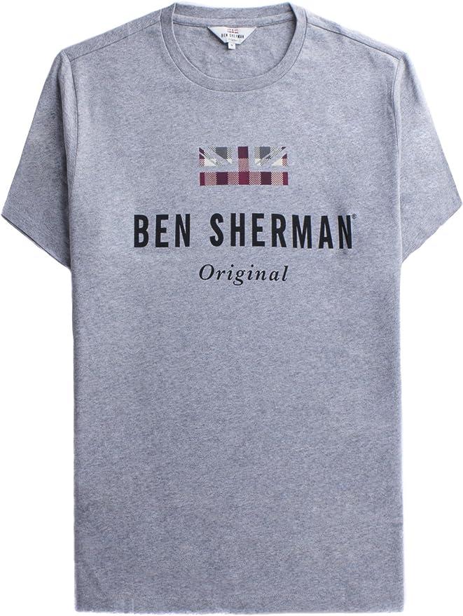 Ben Sherman The Original Print Tshirt Camiseta para Hombre: Amazon.es: Ropa y accesorios