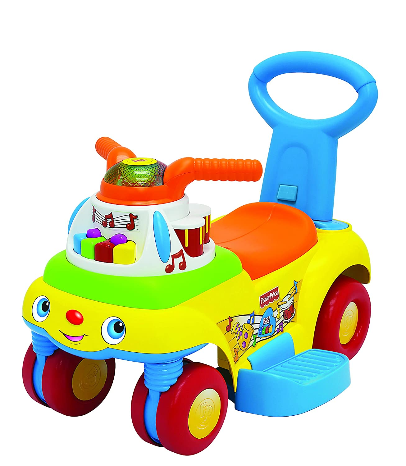 Amazon Fisher Price 3 in 1 Push N Scoot Ride Toys & Games