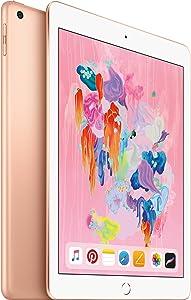 Apple iPad 2018 32GB, Gold (Renewed)