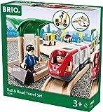 BRIO レール&ロードトラベルセット 33209