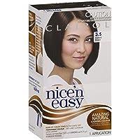 Clairol Nice'n Easy Permanant Hair Colour, 3.5 Darkest Brown, 1 count