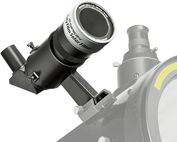 TSSOLs TS-Optics Solar Finder Sol Searcher fits into the finder shoe of your telescope