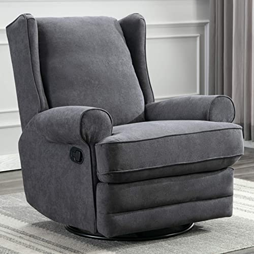 ANJ Swivel Rocker Recliner Chair