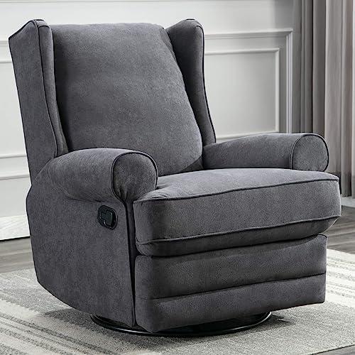 ANJ Swivel Rocker Recliner Chair