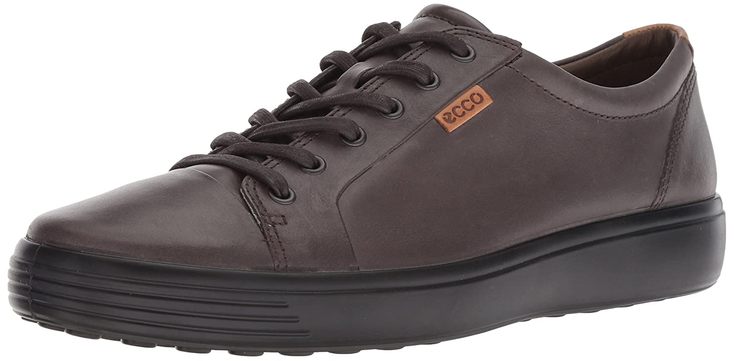 Licorice ECCO shoes Men's Soft 7 Lace Low