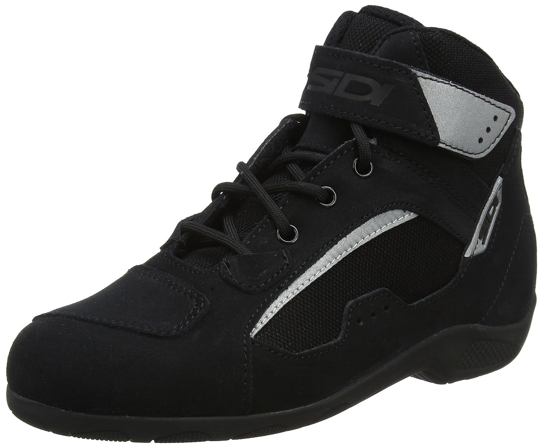 41, Nero - Giallo Giallo Shoes Black Strada Turismo SIDI Scarpa Moto Modello Duna Nero