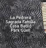 GAUDI COFFRET / La Pedrera-Sagrada Familia-Casa Batllo-Park Güell