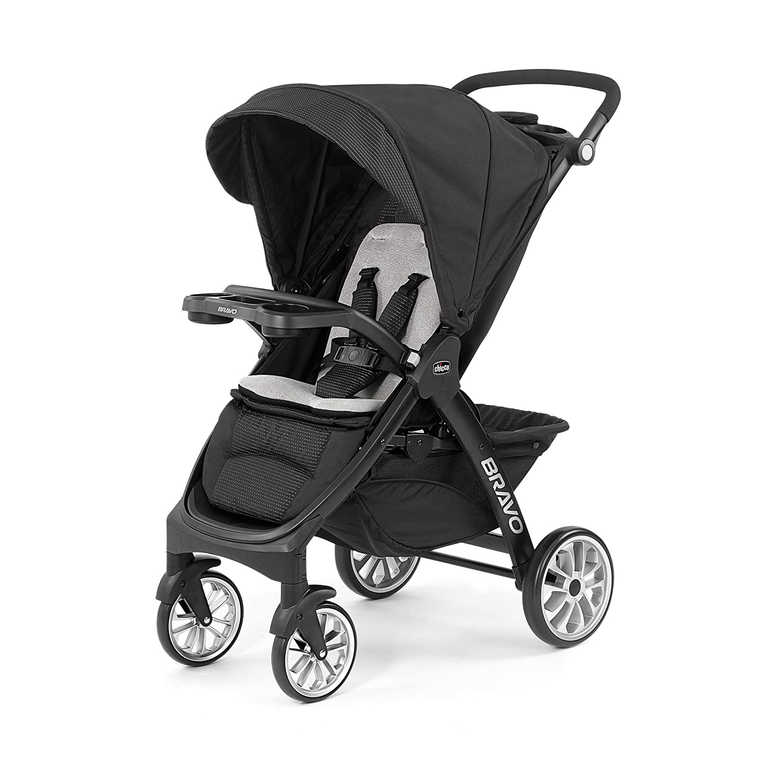 Chicco Bravo LE Trio Travel System, Latte