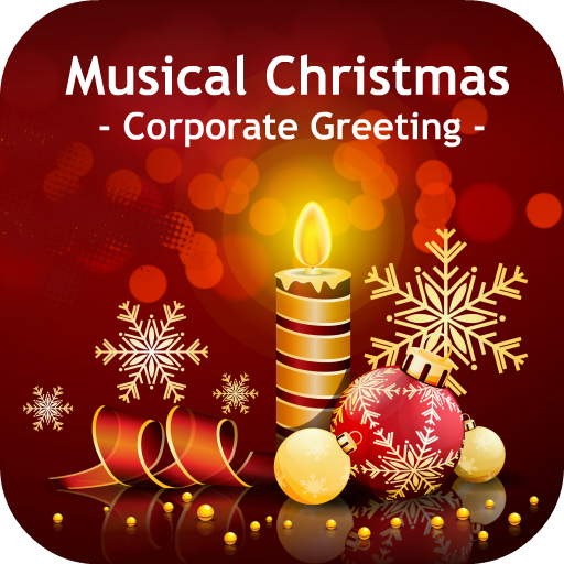 Christmas Snowfall Cards (Musical Christmas - Corporate Greeting)
