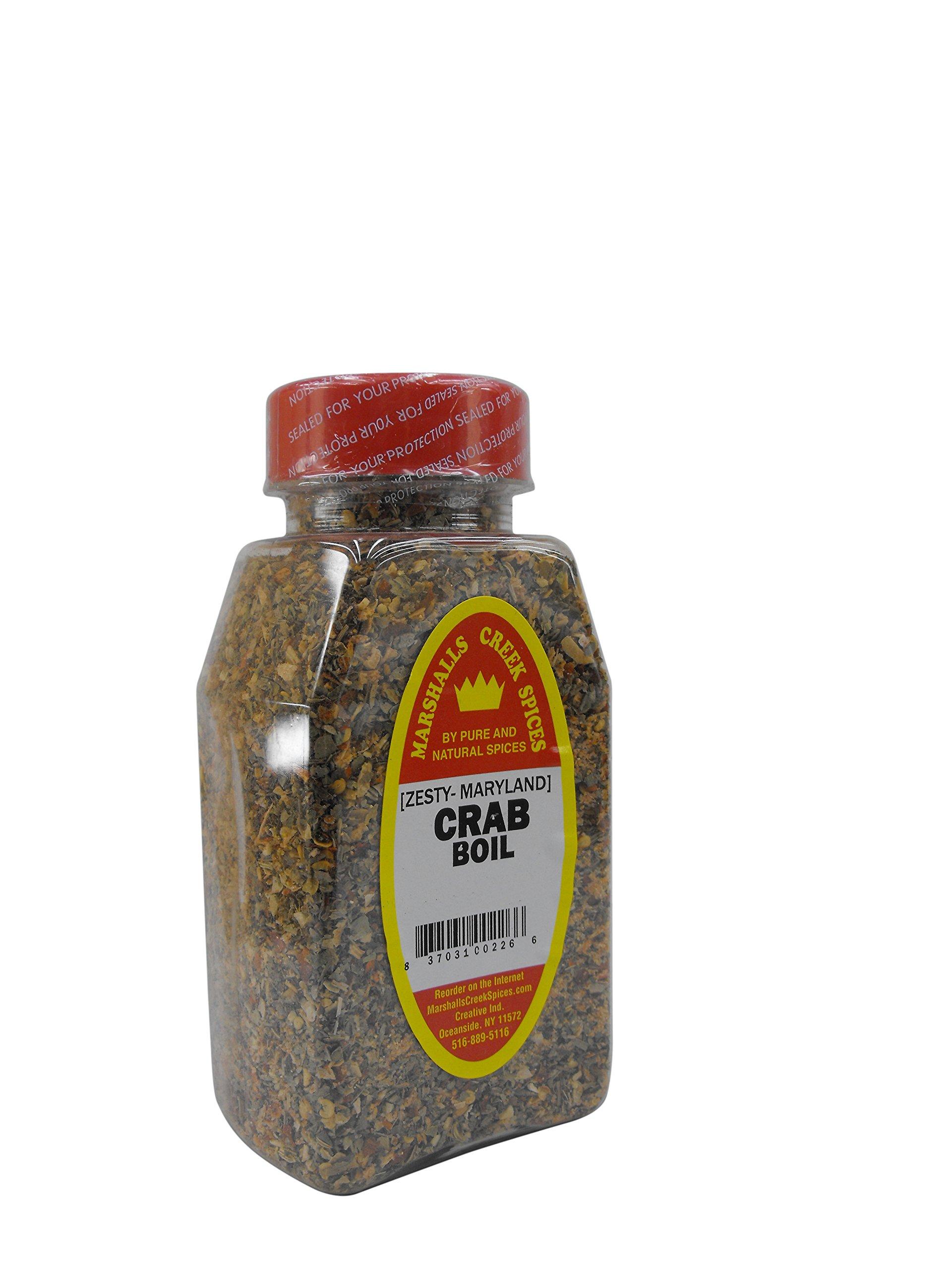 Marshalls Creek Kosher Spices CRAB BOIL SEASONING 15 oz