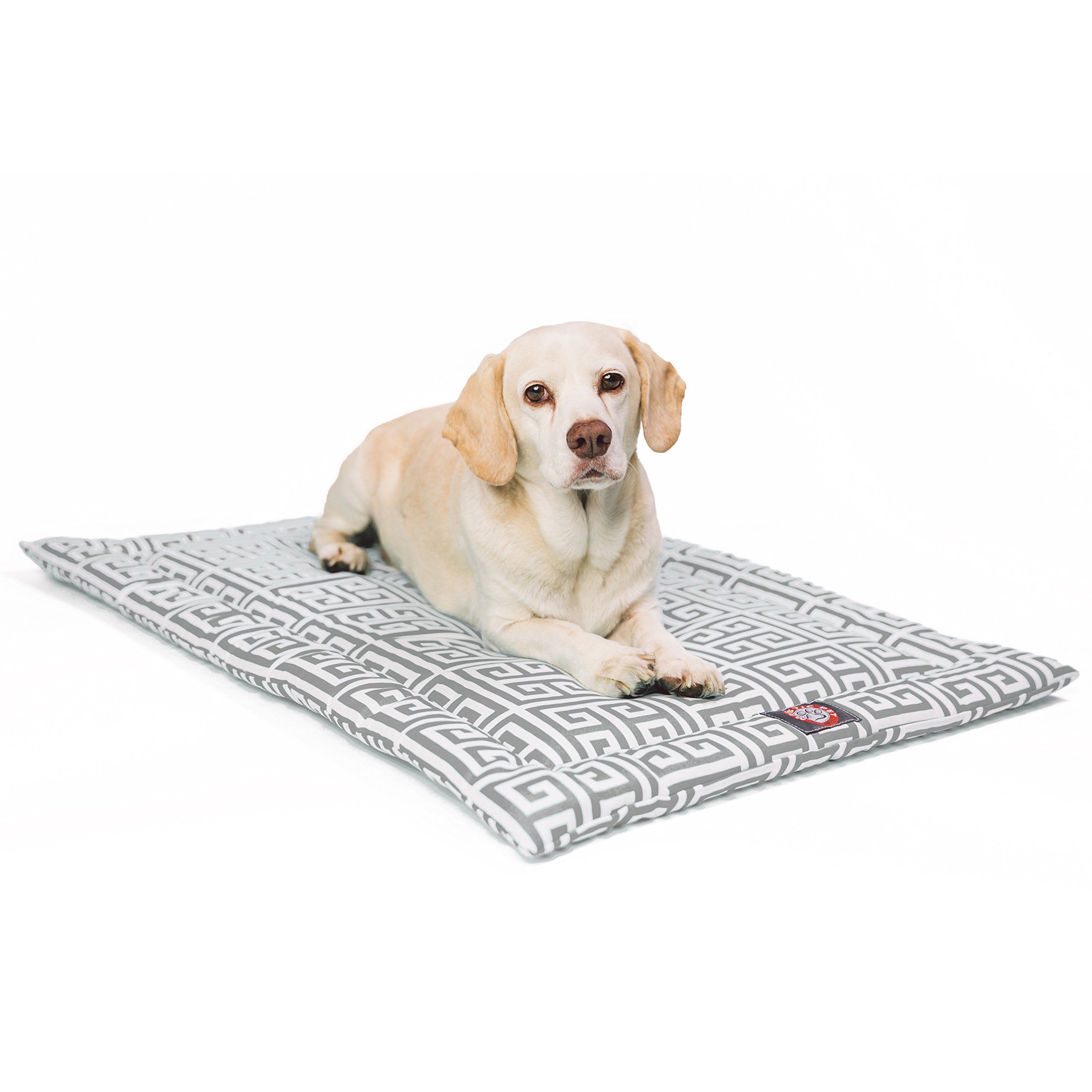 36''  Towers Gray Crate Dog Bed Mat By Majestic Pet Products