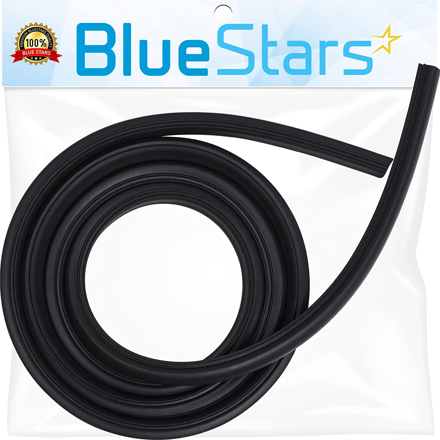 Ultra Durable W10509257 Dishwasher Door Gasket Replacement Part by Blue Stars – Exact Fit For Whirlpool & Kenmore Dishwashers – Replaces W10082795 3368994 WPW10509257 3376927