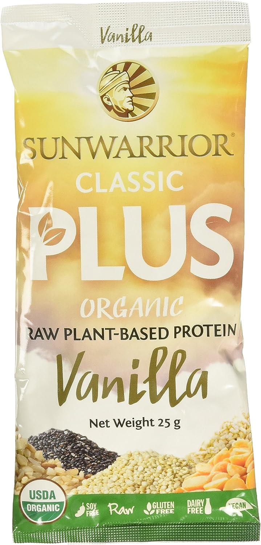 Sunwarrior Classic Plus Sachets Vanilla - 12 Unidades: Amazon.es ...