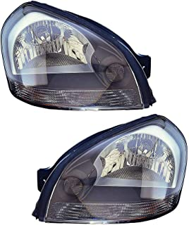 DEPO Replacement Fog Light Unit Passenger = Right Fit For 05-09 Hyundai Tucson