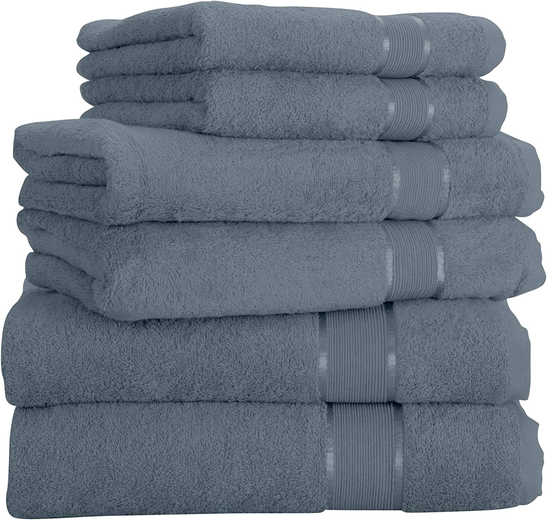 Mixibaby Handtuch 6er Set 2X Duschtuch 2X Handtuch 2X G/ästetuch 100/% Baumwolle Frottee Farbe:Teal