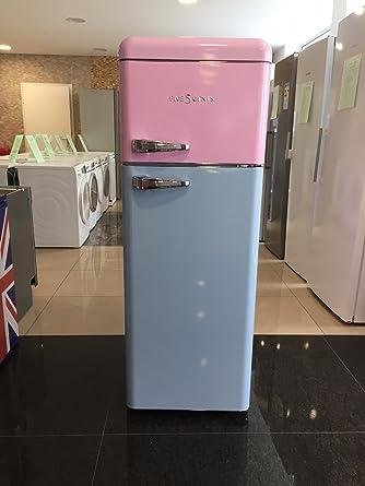 Kühlschrank retro rosa  FIVE5Cents G215 / SchaubLorenz SL208 / Kühlgefrierkombination ...