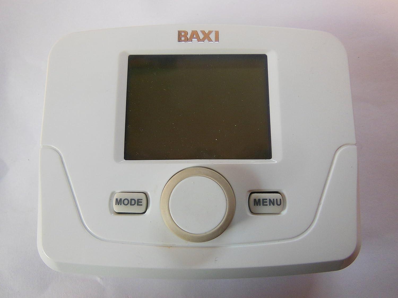 Baxi 7 días programador Digital inalámbrico 720644801 211217 ...