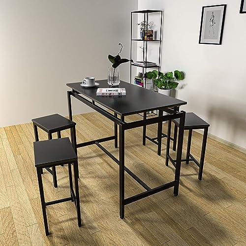 LTTROMAT 5 Pieces Dining Table Set