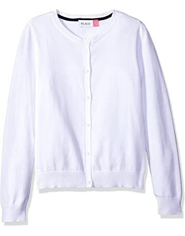 e3f0105968927d The Children's Place Girls' Uniform Cardigan Sweater