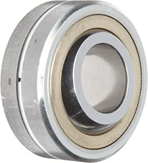 Sealmaster FLBG 12 Spherical Plain Bearing, Three-Piece, Corrosion-Resistant, Unsealed, 3/4' Bore , 2-1/4' OD, 1 1/4' Inner Ring Width, 15/16' Outer Ring Width