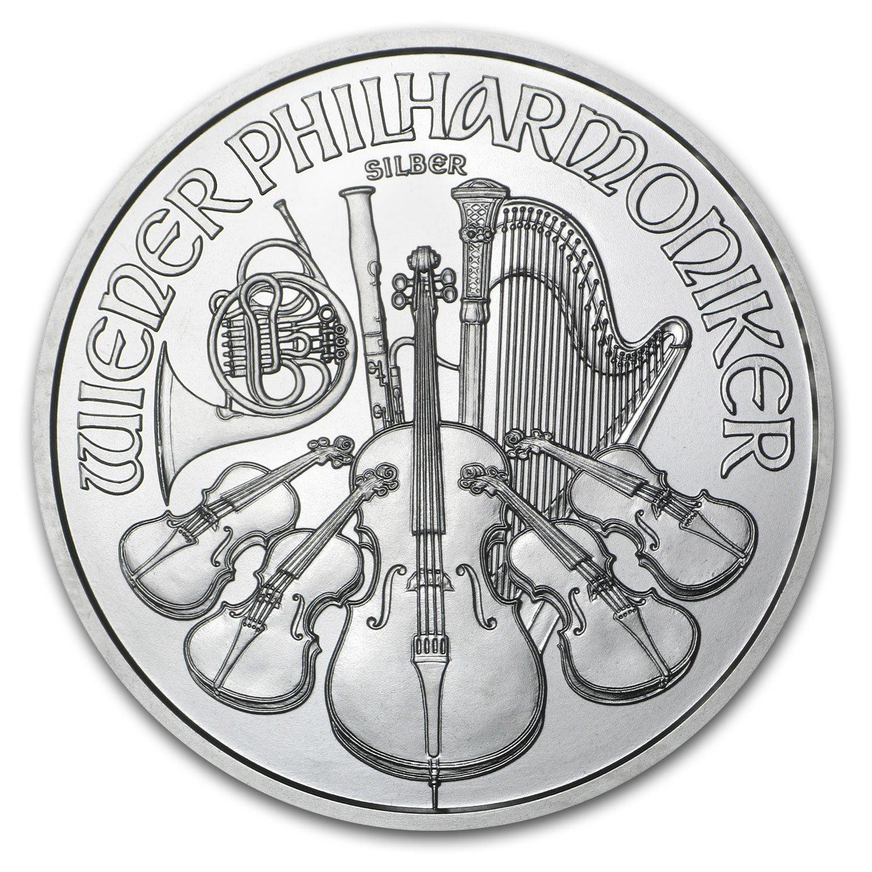 2015 AUSTRIA 1 OZ SILVER PHILHARMONIC BU .999 FINE