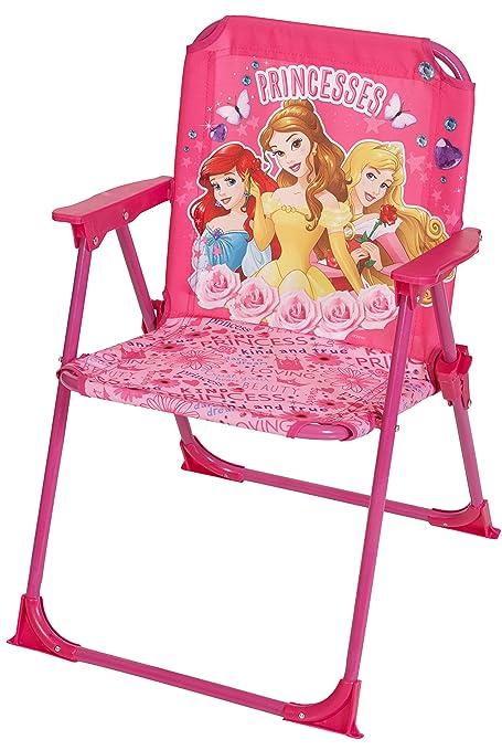 Disney Designs Princess Folding Chair With Material Finish, 52 X 37 X 35 Cm,