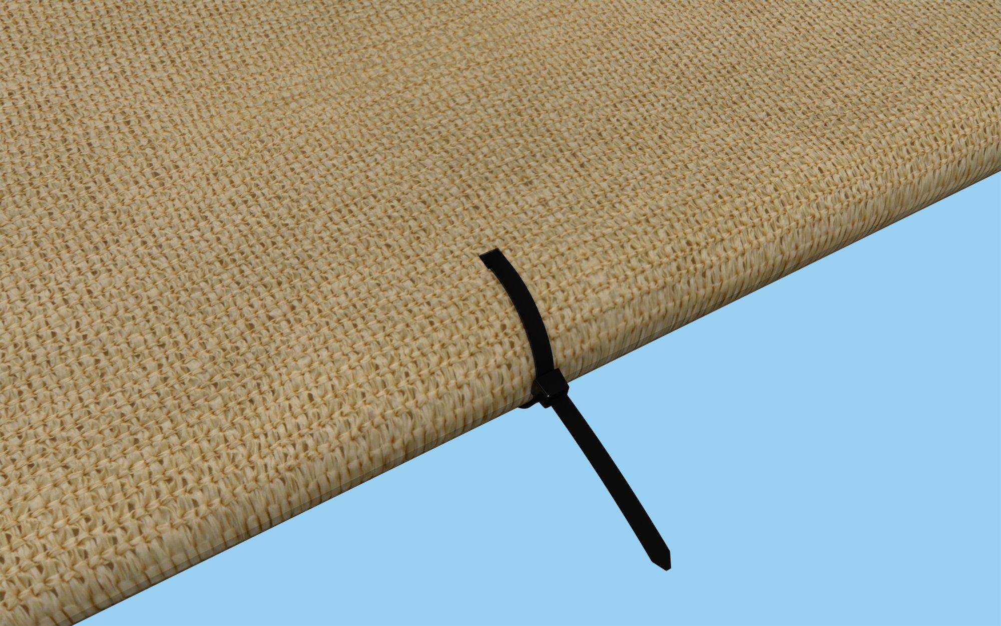 ShelterLogic Shade Sail Fabric Tie Wraps (25 Pack) by ShelterLogic (Image #3)