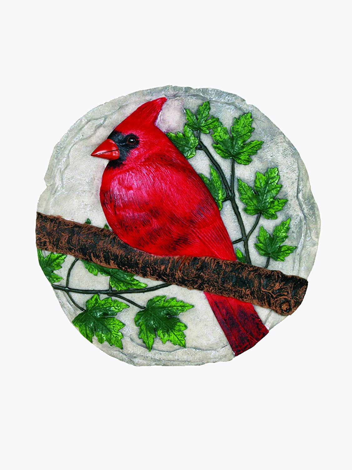 Spoontiques On Branch Cardinal Stepping Stone
