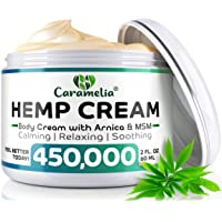 Hemp Cream for Pain Relief 450,000 - Verified Hemp Cream - Ultimate Hemp Power -...