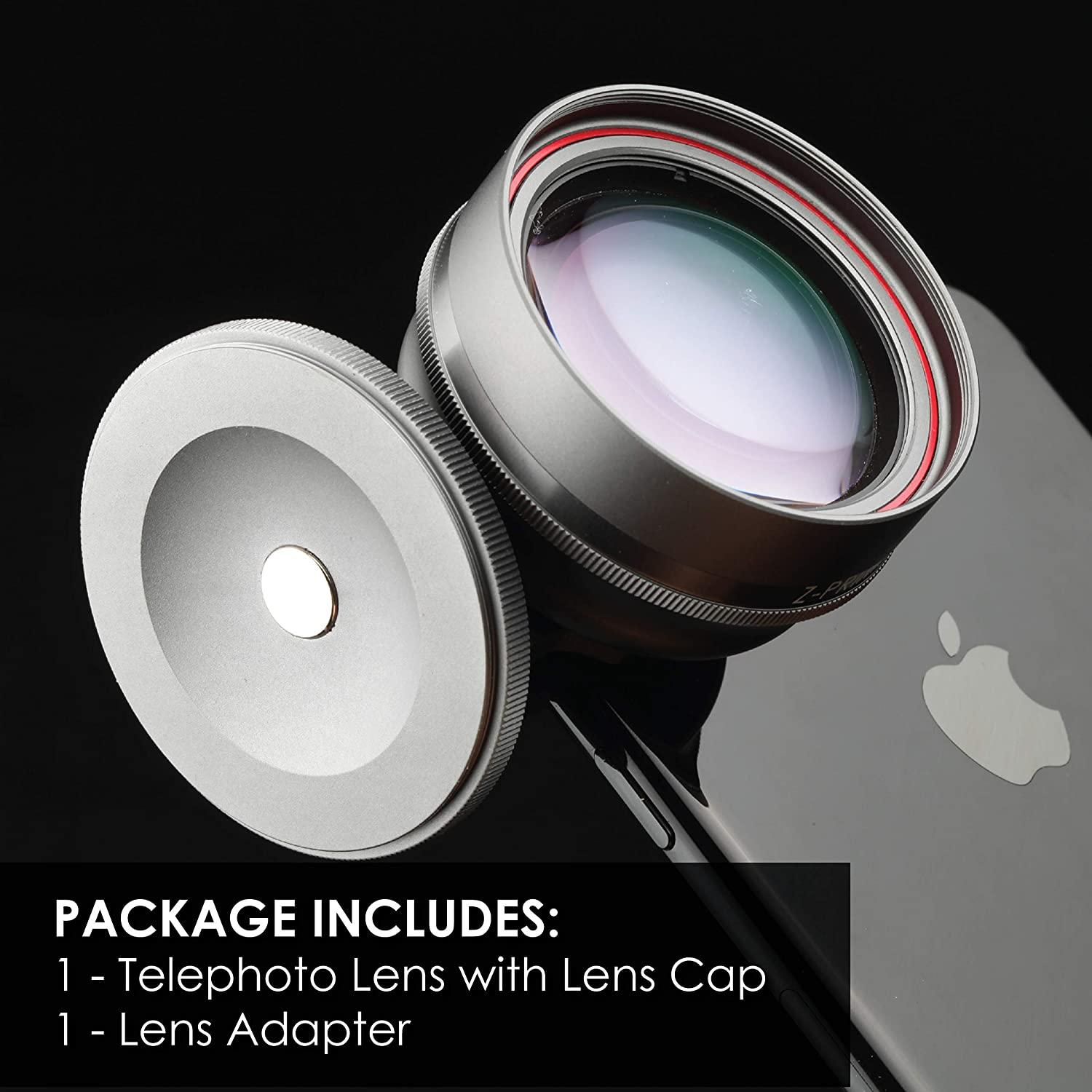 8 X 8 Plus 7 Plus XR Free Lens Adapter For iPhone 7 XS Max Z-PRIME 65mm Telephoto Lens XS