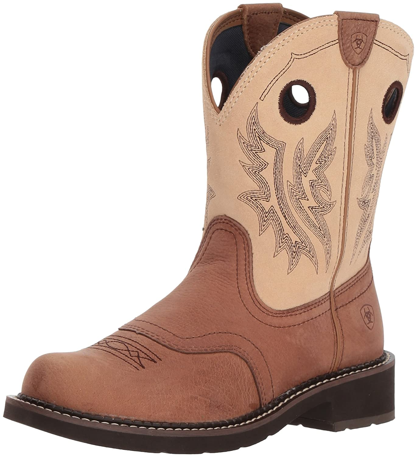 Ariat Women's Fatbaby Heritage Cowgirl Western Boot B076MK4DCW 11 M US|Tan/Sand