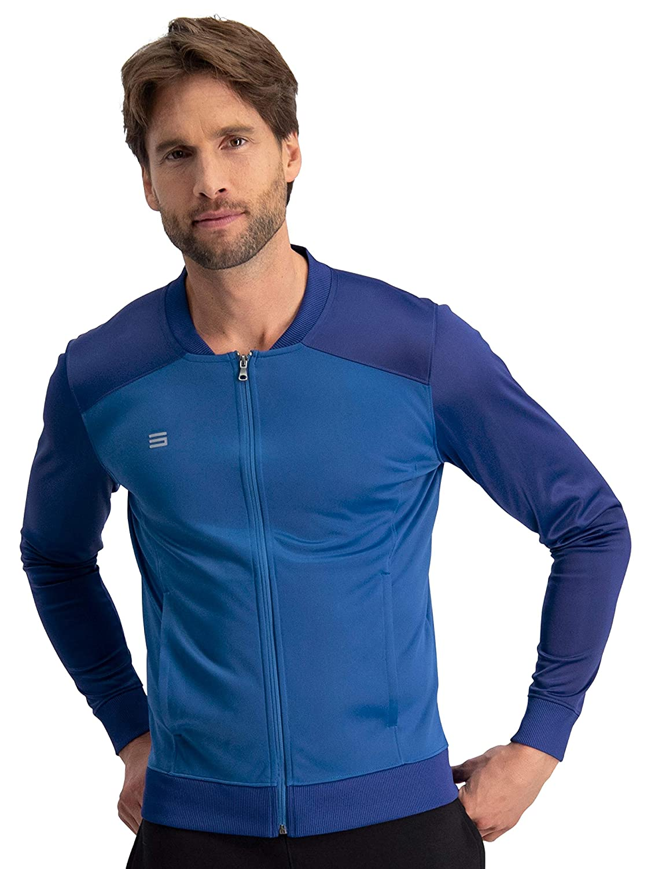 Lightweight Slim Fit Dry Fit Bomber Jacket Men Mens Full Zip Running Jackets